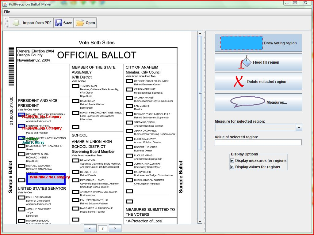 Finalprototype group pollprecision cs160 user interfaces for Voting slips template