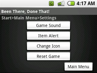 (16) Settings overview