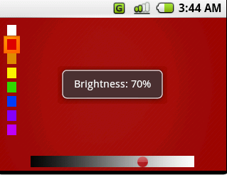 (FigBL.2) Color and brightness config