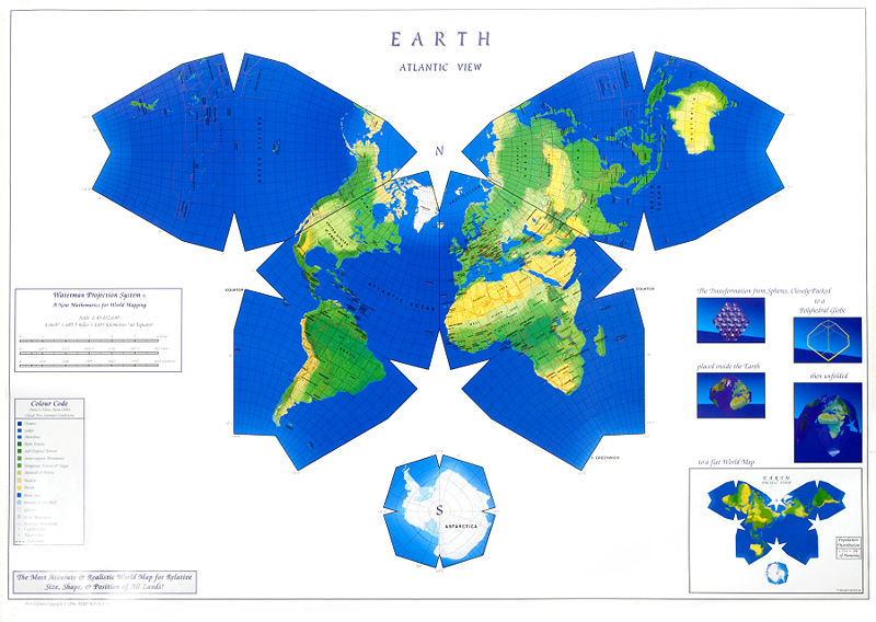Cartography an overview timeline preceden waterman butterfly world map gumiabroncs Choice Image