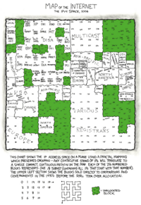 xkcd.com - map of the internet