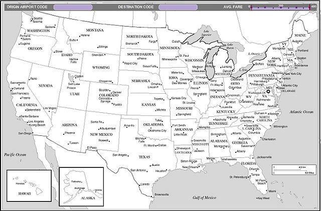ASushrutPavanaskarDavidZats CS Visualization Sp - Us map with airport codes