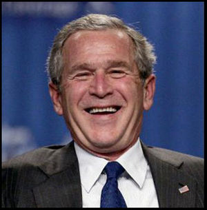 bush  happy